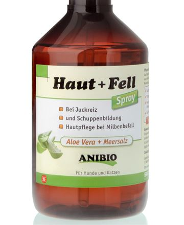 ANIBIO Hud og pels spray 1000 ml. u/sprayhoved