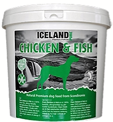 Iceland PURE Chicken & Fish, No grain 4 kg.