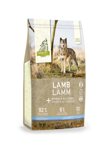 Isegrim, Steppe, Adult, Lamb 3 kg.   92/8/0%