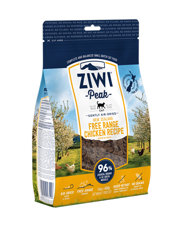 ZiwiPeak KAT, CHICKEN, 1 kg. air dried