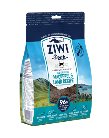 ZiwiPeak KAT, Mackerel & Lamb, 1 kg. air dried